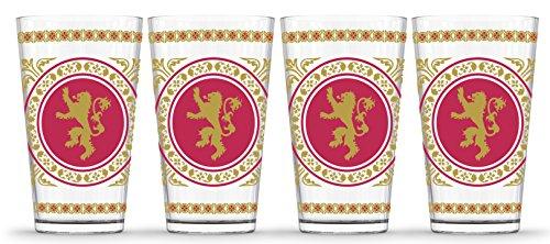 De Juego de Tronos GOT de la casa Lannister león bandera de...