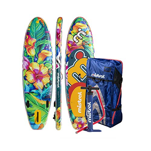 MISTRAL Limbo Inflatabable Sup, Unisex Adulto, Multicolor, 10.5
