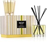 NEST Fragrances Classic Candle & Reed Diffuser Set, Grapefruit