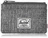 Herschel Oscar RFID Portafoglio con Chiusura Lampo, Corvo a Croce, Taglia unica Uomo