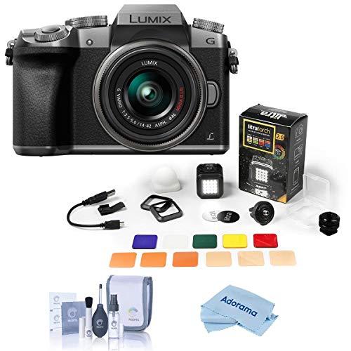 Panasonic Lumix DMC-G7 Mirrorless Camera with Lumix G Vario 14-42mm...