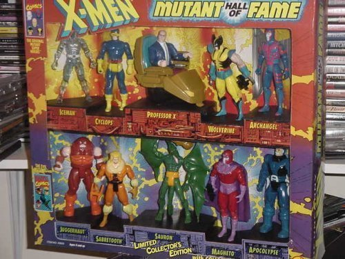 """The Uncanny X-men """"Mutant Hall of Fame"""" (limited collector"""
