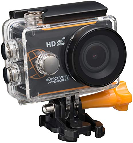 Discovery Adventures Full HD 1080P WIFI Action Camera Expedition con schermo LCD, 5,08cm (2pollici) Nero