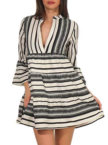 ONLY dames jurk ONLSALLY ATHENA 3/4 DRESS WVN