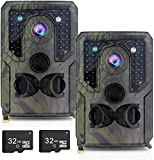 Best Deer Cameras - OHMU 1080P Trail Game Camera 2 Packs Upgraded Review