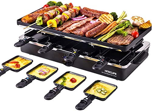 Electric Griddle Grill Indoor Korean BBQ Raclette Table Grill...