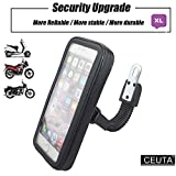 Ceuta Retails Waterproof Universal Zip Pouch Mount Stand/Motorcycle Mobile Holder for Bike