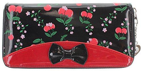 Gebannt New Romantics Wallet - Red/Black/One Size