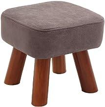 Yxsdd Ottoman Footstools Stools Footstool Step Stools Work Stool Household Living Room Cloth Solid Wood Multicolor Selecti...