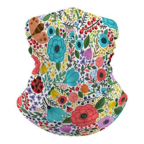 Lrtuwjcn26dt Foulard polyvalent Motif floral