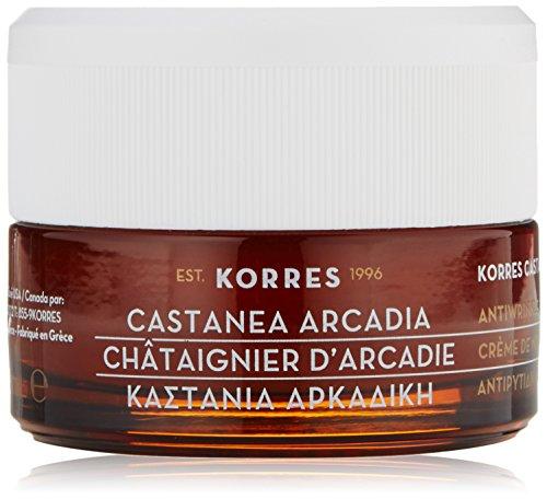 Korres Castanea Arcadia Tagescreme für trockene und sehr trockene Haut,1er Pack (1 x 40 ml)