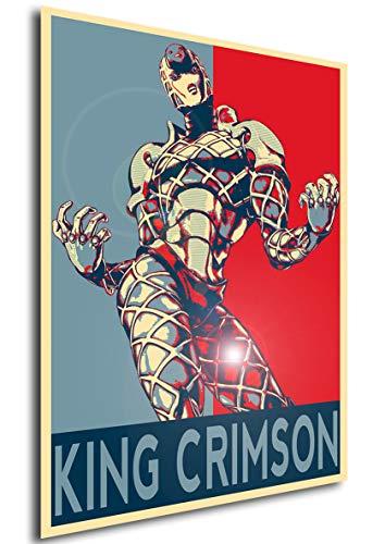 Instabuy Poster Propaganda Jojo King Crimson Manifesto 70x50