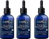 Fast-Acting Liquid Melatonin 2 fl oz (59 mL)-Pack-3
