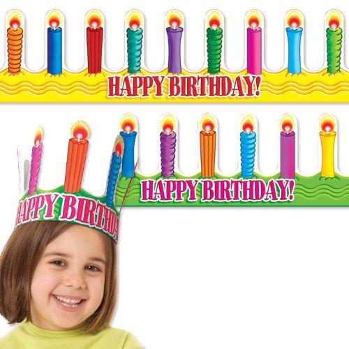 Happy Birthday Crowns (Crowns & Visors)