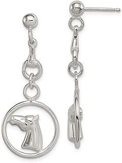 DiamondJewelryNY Eye Hook Bangle Bracelet with a St Rene Goupil Charm.