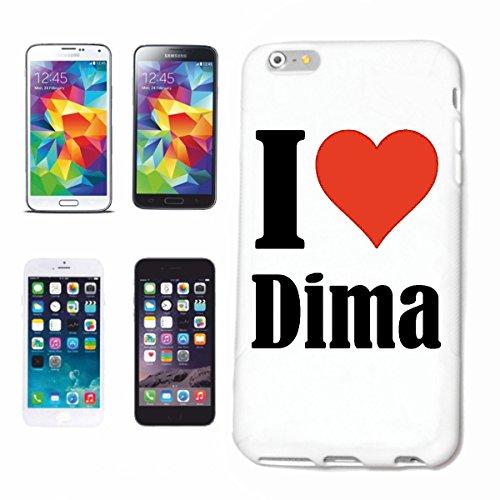 Reifen-Markt Handyhülle kompatibel für iPhone 7 I Love Dima Hardcase Schutzhülle Handy Cover Smart Cover