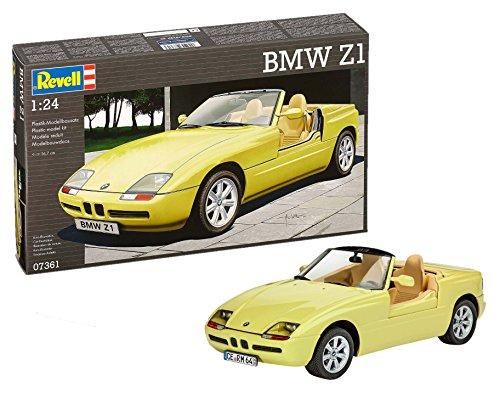 Revell 07361 07361-BMW Z1-Maßstab 1:24, Gelb