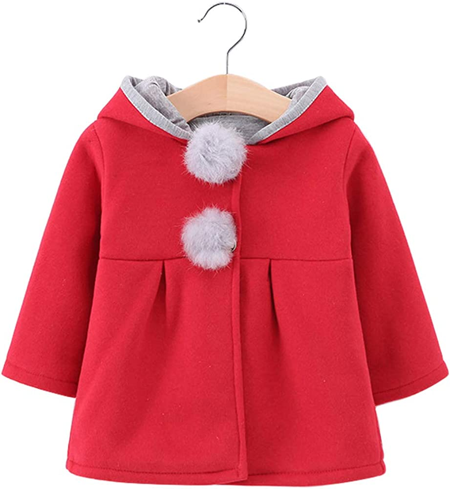 NEW Baby Girl's Toddler Kids Fall Rabbit Jacket Coat Some reservation Outwear Winter