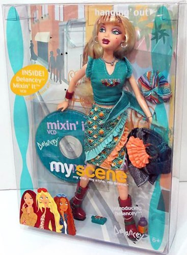 Barbie My Scene 2003 - C1682 - Hanging Out - Delancey - incl. mixin' it Video & Music CD