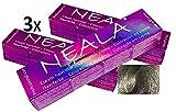 Pack 3 Matizador Profesional SIN AMONIACO y libre de PPD y MEA - 12.65 - Matizador de color especial para mechas PLATA - NEALA 3x100ml.