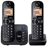 Panasonic KX-TGC222EB Digital Cordless Phone with LCD