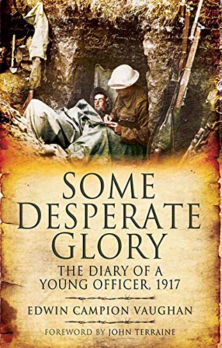 Some Desperate Glory: The Diary of a Young Officer, 1917 (English Edition)
