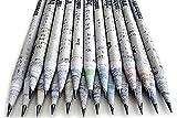 Chavi Eco lápices-caja set de 30 unidades-2B 100% papel de periódico,pencil reciclado para escribir/dibujar/diseñar para oficina/escuelas o colegios. …