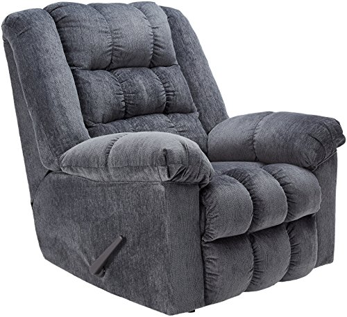 Signature Design by Ashley Ludden Rocker Recliner Blue