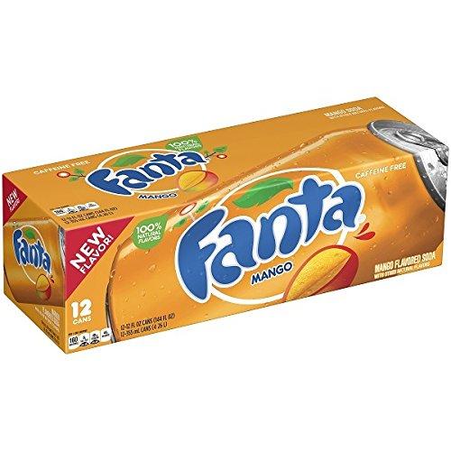 Fanta Mangue 35,5cl (pack de 12)