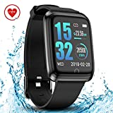 DoSmarter Orologi Intelligenti, Smartwatch Impermeabile Android iOS Bluetooth Orologi Fitness Tracker Uomo Donna Cardiofrequenzimetro da Polso Pedometro