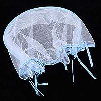 ベビーカー蚊帳昆虫乳母車蚊帳ベビーカー幼児用ベビーカー(Blue edging, Rattan trolley tent)