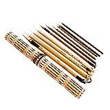 Serie de 10 pinceles de tinta profesional para la pintura y caligrafía de China