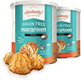 Absolutely Gluten Free Toasted Coconut Macaroons 10 oz (2-pack) Grain Free, Dairy Free, Soy Free