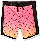Hurley Boys' Toddler Stretch Board Shorts, Hyper Pink, 2T