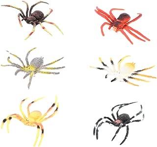 Amosfun 51pcs halloween giocattoli falsi malevoli divertenti merde realistiche mosche simulazione spremere scherzo trucco scherzo giocattoli per bomboniere halloween