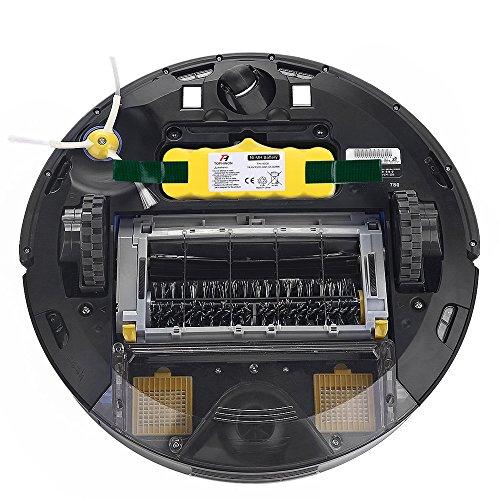 TOPHINON 4500mAh 14.4V Ni-MH Battery for iRobot Roomba500 510 520 530 532 535 540 545 550 552 555 560 562 570 580 581 582 585 595 600 610 620 630 631 650 660 700 760 770 780 790 800 870 880 R3