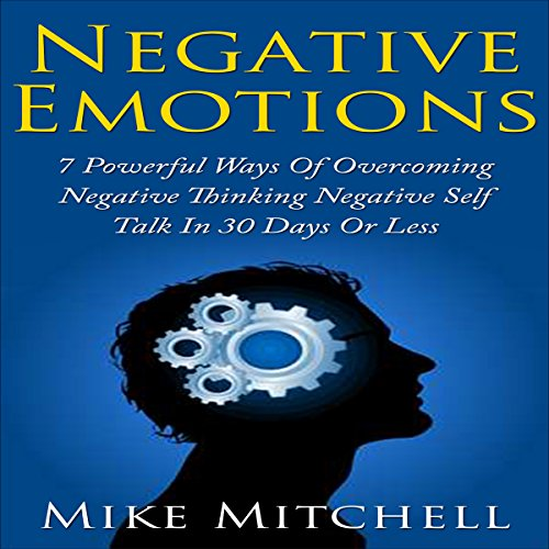 Negative Emotions audiobook cover art