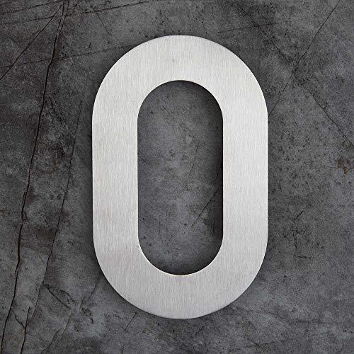 Huisnummer Digitale Stickers, Huis Logo, 6-inch Huisnummer Drijvende Huisnummer Vast (Cor : Number 0)