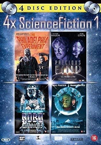 4 x Science Fiction ( Robo Warriors / The Philadelphia Experiment / Precious Find / Oblivion ) [ Holländische Import ]