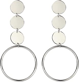 Minshao Boucles d/'oreille pendantes /à glands tendance style boh/ème