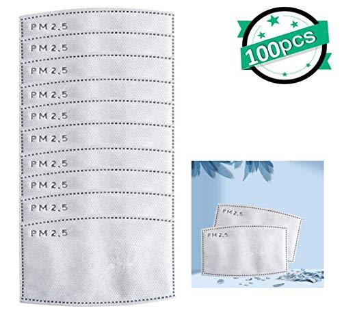 Filtros reemplazables 10/20/30/50/100 PM2.5 para adultos y niños