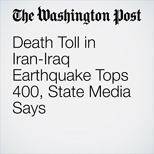 Death Toll in Iran-Iraq Earthquake Tops 400, State Media Says copertina