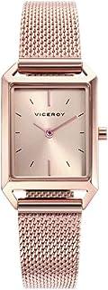 Viceroy Reloj Analogico para Mujer de Cuarzo con Correa en Acero Inoxidable 471130-97