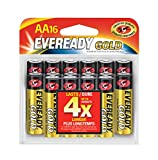 Eveready Gold Alkaline AA Batteries, 16 Count