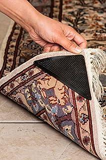 Bath Linens Rug Grip Pro Reusable Rug Gripper - Set of 8 Ruggies Carpet Gripper