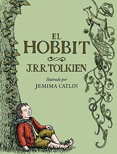 El Hobbit. Ilustrado por Jemima Catlin: ilustrado por Jemima Catlin (Biblioteca J. R. R. Tolkien)