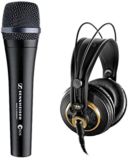 Sennheiser e935 Wired Professional Cardioid Dynamic Handheld Vocal Microphone with AKG K240STUDIO Professional Stereo Head...