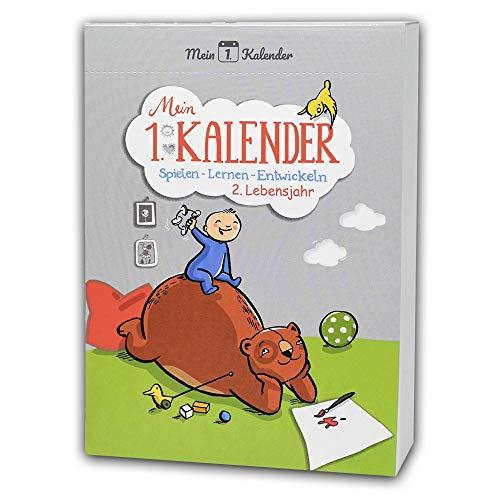 Mein 1. Kalender, Spielen - Lernen - Entwickeln 2. Lebensjahr, Frühkindliche Lernförderung und Ratgeber, A6, S.376