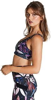 Rockwear Activewear Women's Mi Winter Bloom Zip Sports Bra Winter Bloom 14 From size 4-18 Bras For