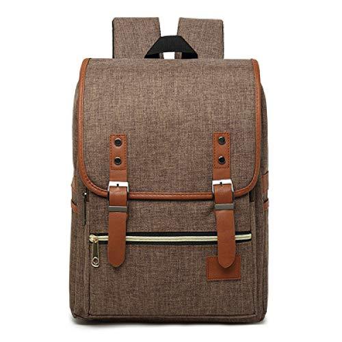 Koreanische Leinwand Umhängetasche Neue Persönlichkeit Retro Leinwand Tasche Männer Und Frauen Reisen Rucksack Mode Rucksack 4 29 * 42 * 11 Cm
